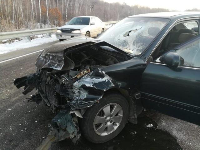 В ДТП на трассе в ЕАО пострадал пассажир автомобиля