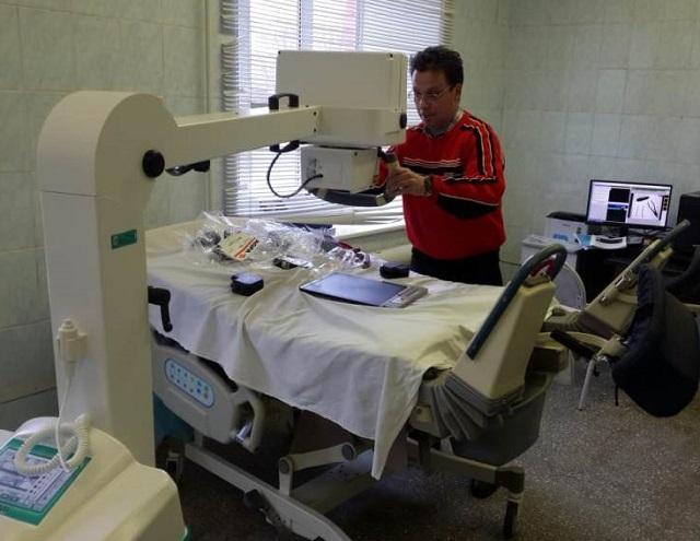 В биробиджанском роддоме устанавливают медоборудование для новорожденных