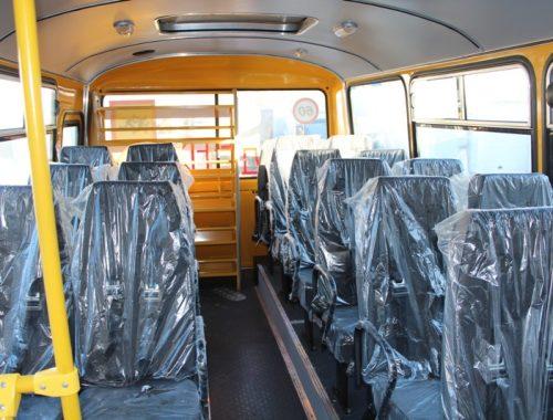 Новенькие школьные автобусы поступили в ЕАО