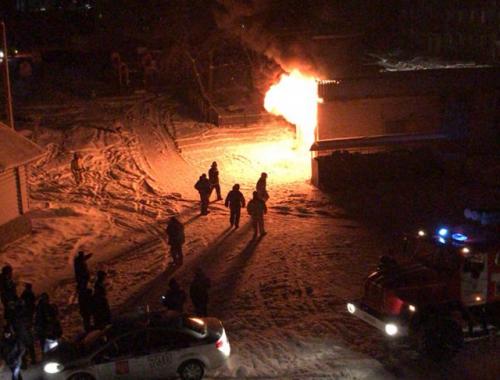 В г. Облучье загорелась электроподстанция: ряд объектов обесточен