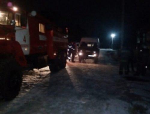 15 человек эвакуировали при ночном пожаре в ЕАО