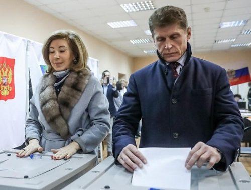 В Приморье огласили окончательные итоги выборов губернатора региона