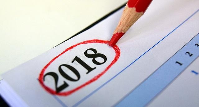 Названы главные события 2018 года