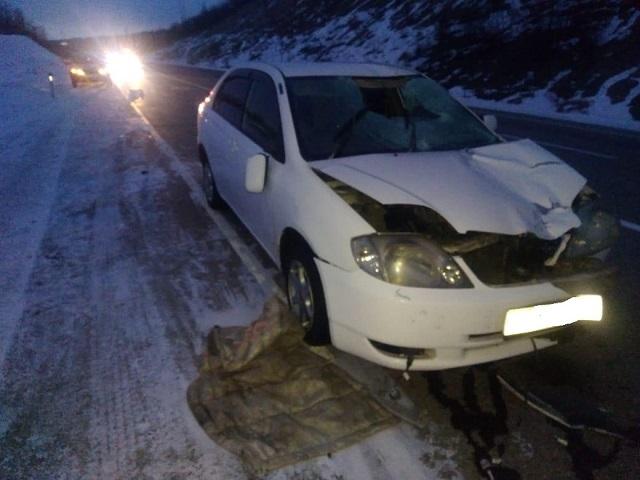 Женщина попала под колеса автомобиля в ЕАО