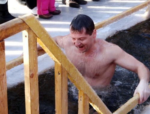 Крещение Господне отметили биробиджанцы