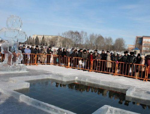 В Биробиджане начали готовиться к празднику Крещения Господня