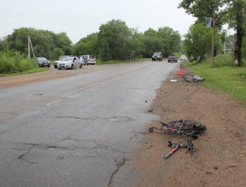 Водитель, сбивший насмерть велосипедиста в Биробиджане, предстанет перед судом