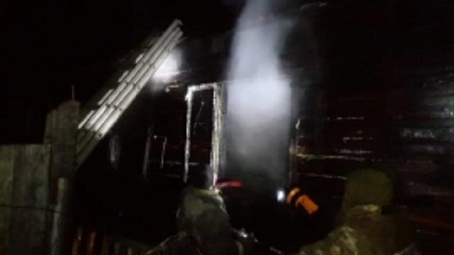 Сгоревших заживо детей пытался спасти сосед