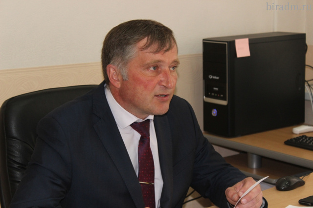 Обязанности мэра Биробиджана будет исполнять Андрей Пивенко