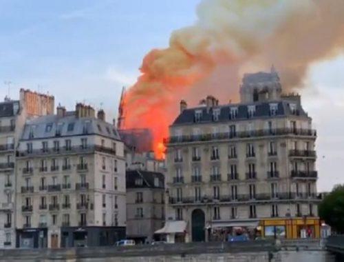 Пожар в соборе Парижской Богоматери: что удалось спасти от огня
