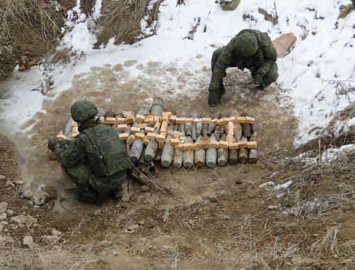Сотрудники УФСБ обследовали бывший артиллерийский склад боеприпасов в ЕАО