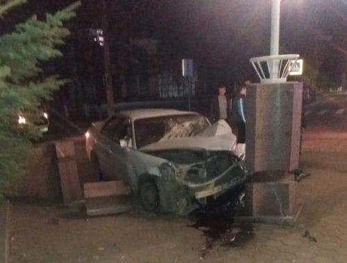 Попал в ДТП на угнанном автомобиле житель с. Птичник