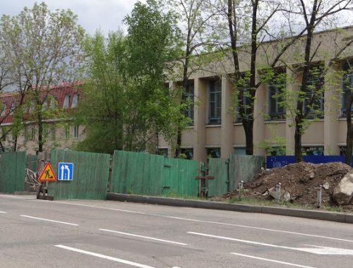 Закрыли на две недели участок дороги по ул. Пушкина в Биробиджане