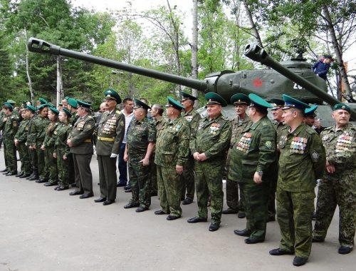 101-ю годовщину создания пограничных войск отметили в Биробиджане