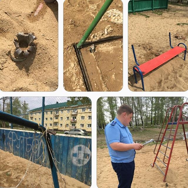 На главу поселения в ЕАО возбудили дело за травмоопасную детскую площадку