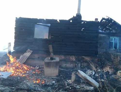 Мужчина спалил соседский дом и баню в ЕАО