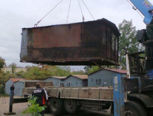 С 1 июня мэрия Биробиджана начнет вывозить самовольно установленные гаражи