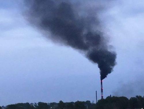 ХТСК: черный дым из трубы Биробиджанской ТЭЦ — следствие ремонтных работ
