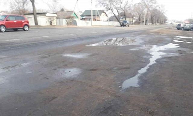 Ремонт автодороги по ул. Советской начался в Биробиджане