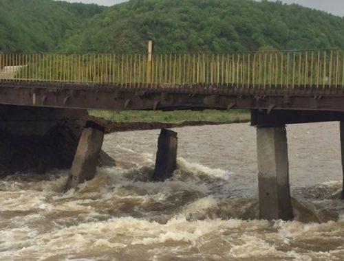 Разрушенные мосты в Облучье отремонтируют в 2021 году