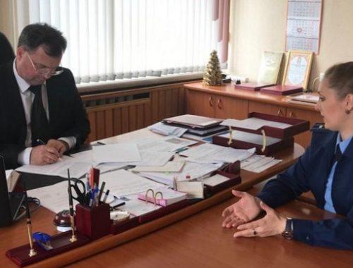Главе Биробиджанского района Сергею Солтусу объявлено предостережение