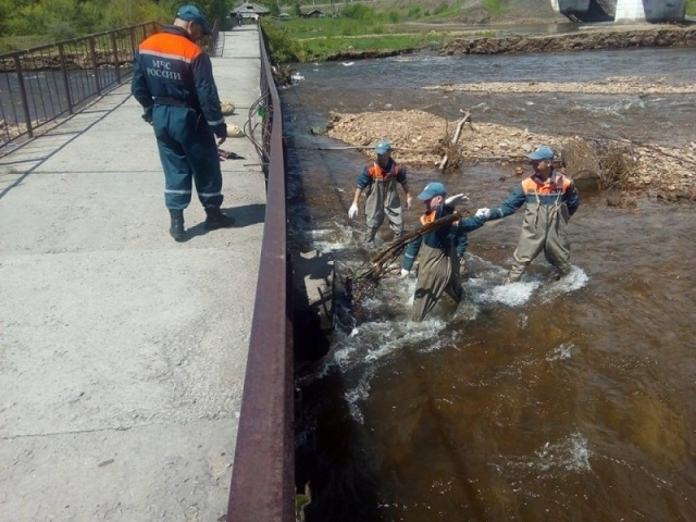 15 спасателей убыли в Облученский район ЕАО