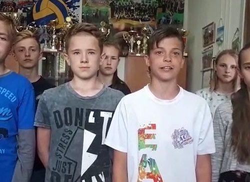 В преддверии «прямой линии» с Путиным биробиджанские школьники записали видеообращение
