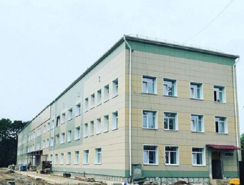 В детской больнице завершились основные строительные работы
