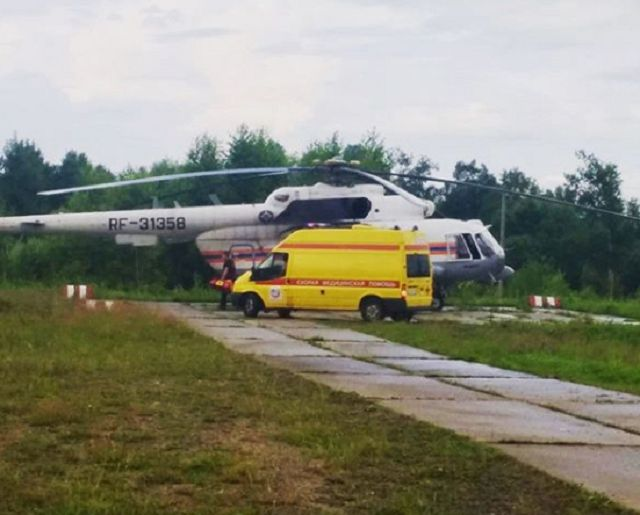 Малыша двух дней от роду экстренно эвакуировали из Биробиджана в Хабаровск