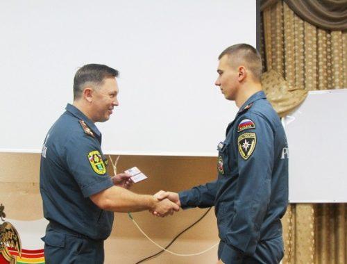 В МЧС ЕАО прибыли молодые офицеры