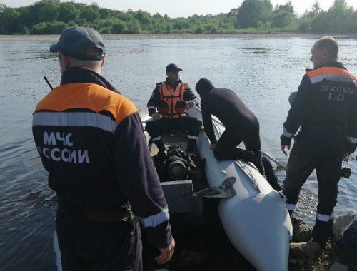 Обследовано 5000 кв. м: утонувший 15-летний биробиджанец не найден