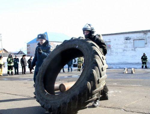 Пожарный кроссфит выявит сильнейших среди силовиков ЕАО
