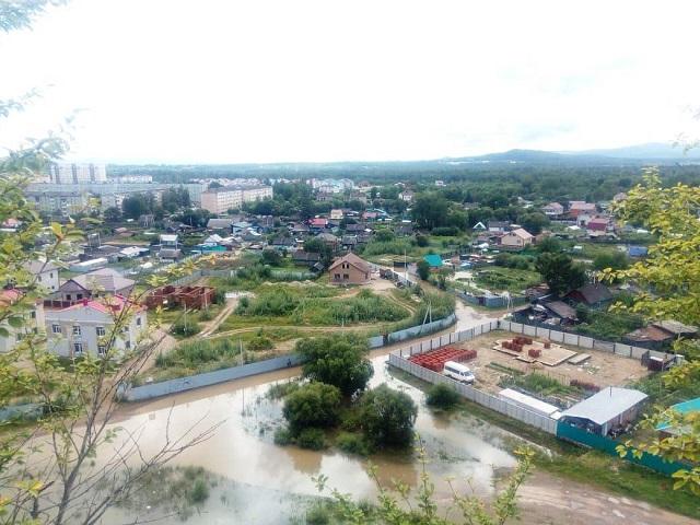 Биробиджан тонет (ФОТО, ВИДЕО)