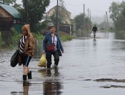 Вода прибывает: эвакуированы 13 биробиджанцев