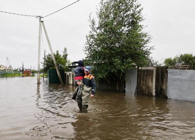 В ЕАО затопило 21 населенный пункт
