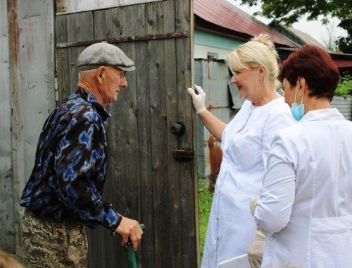 В пострадавших от паводка районах Биробиджана началась вакцинация населения