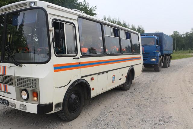 Подмога из Хабаровска прибыла в Смидовичский район ЕАО