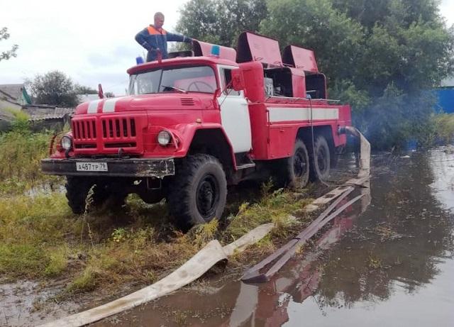 Спасатели ЕАО проводят мероприятия по минимизации последствий ЧС
