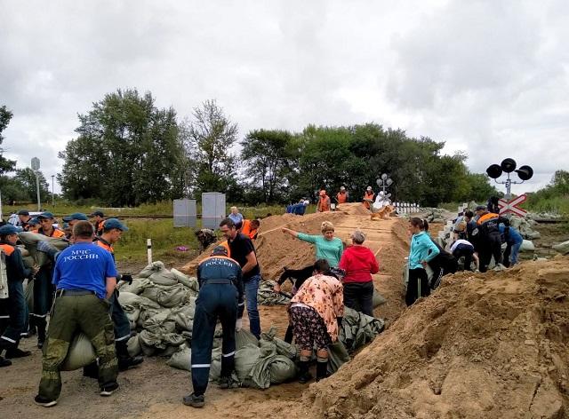 Ситуация ухудшилась: в ЕАО затоплено свыше 150 домов