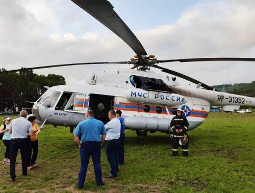 Малыша из ЕАО в тяжелом состоянии вместе с мамой эвакуировали в Хабаровск