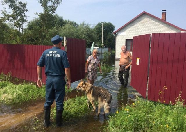 Ущерб от паводка начинают оценивать в ЕАО