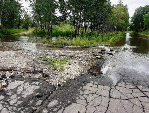Дорога на Щукинку превратилась в месиво