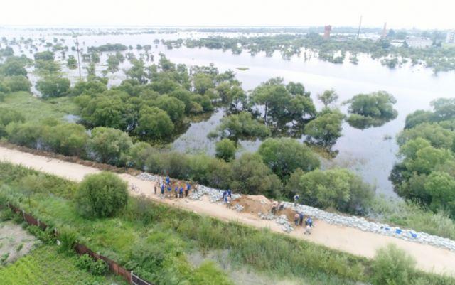 Вода подтопила 33 приусадебных участка в ЕАО