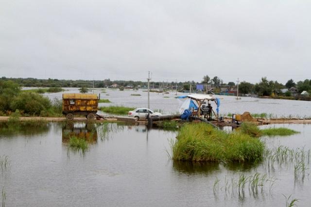 Паводковая ситуация в ЕАО ухудшается