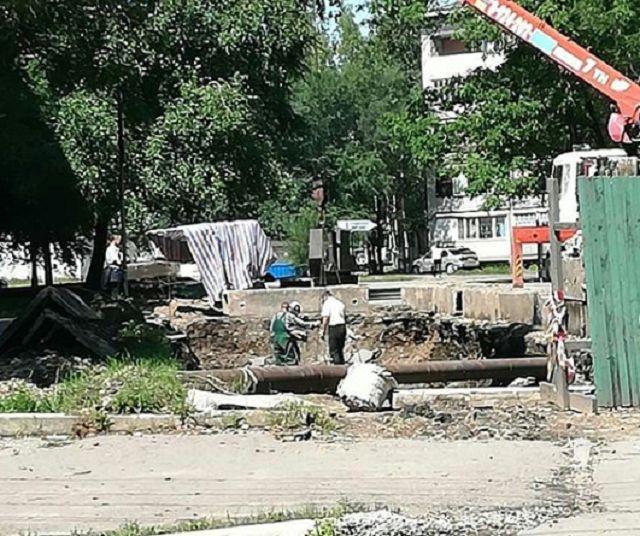 Участок улицы Пушкина приведут в порядок к концу сентября