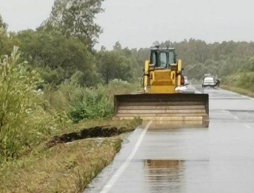 На региональной дороге в ЕАО завершены восстановительные работы