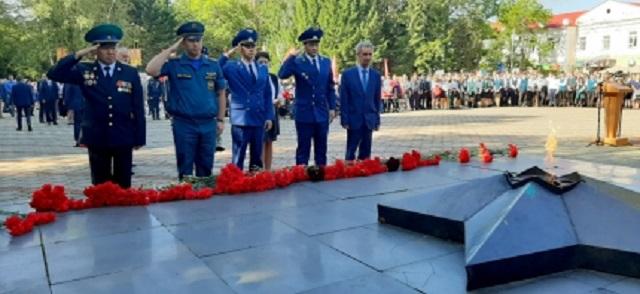 Памятные мероприятия прошли в честь окончания Второй мировой войны в Биробиджане