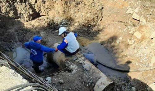 В Биробиджане из-за аварии остановлены насосные станции