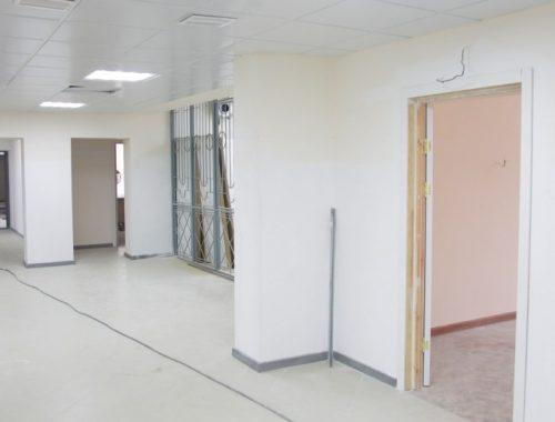 Завершается ремонт поликлинического отделения детской больницы