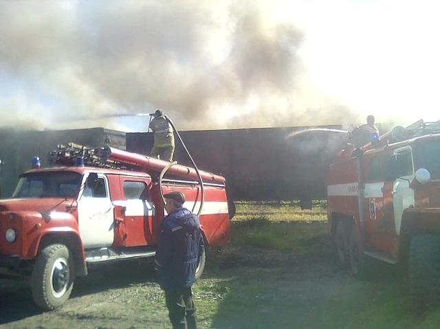 Шпалы загорелись в вагонах движущегося поезда в ЕАО